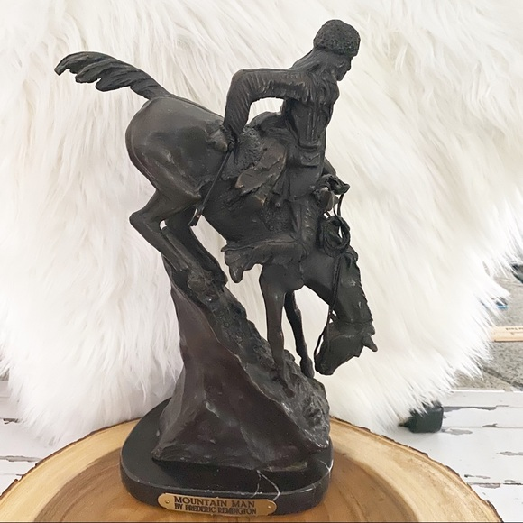 The Mountain Man, After Frederic Remington